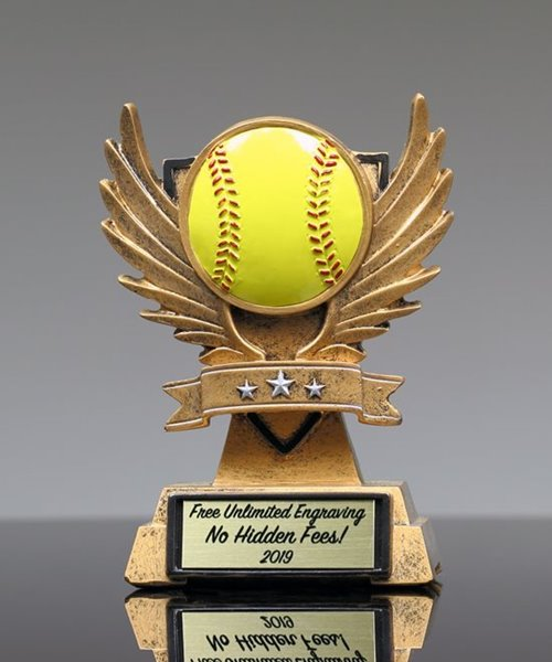 Picture of Victory Wing Softball Trophy