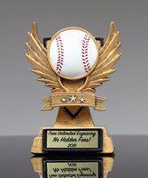 Picture of Victory Wing Baseball Trophy
