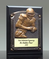 Picture of Greystone Football Plaque