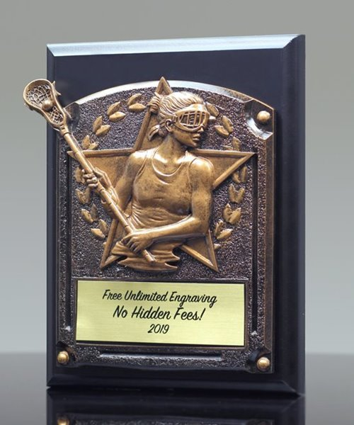 Picture of Greystone Lacrosse Female Plaque