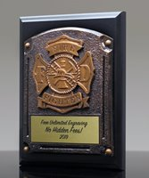 Picture of Greystone Firefighter Plaque