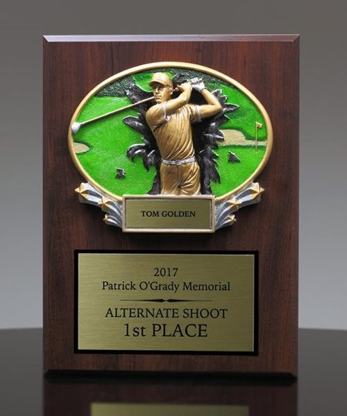 Picture of Xplosion Golf Plaque