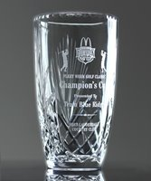 Picture of Lead Crystal Victory Vase