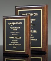 Picture of American Walnut Plaque