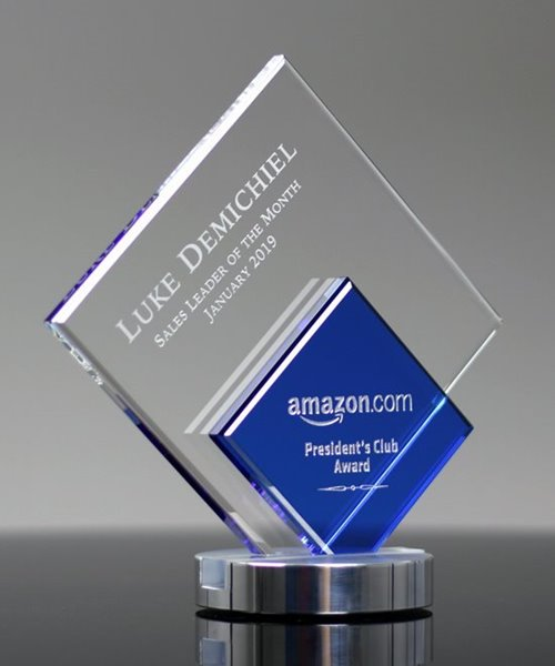 Picture of Diamond Duet Crystal Award