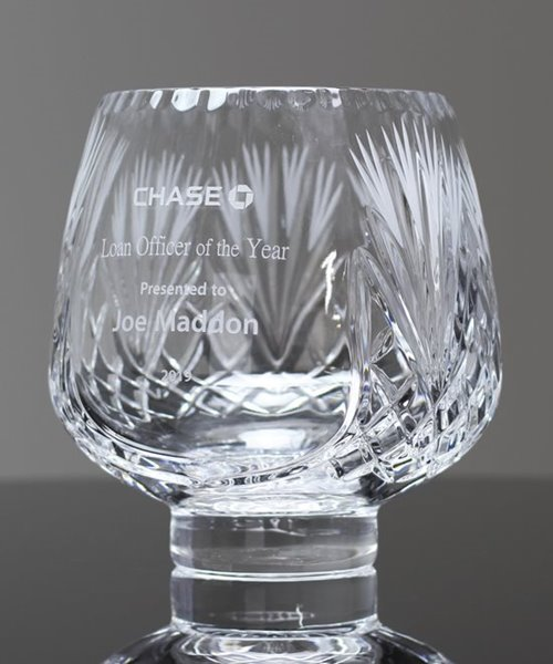 Picture of Rose Bowl Cut Crystal