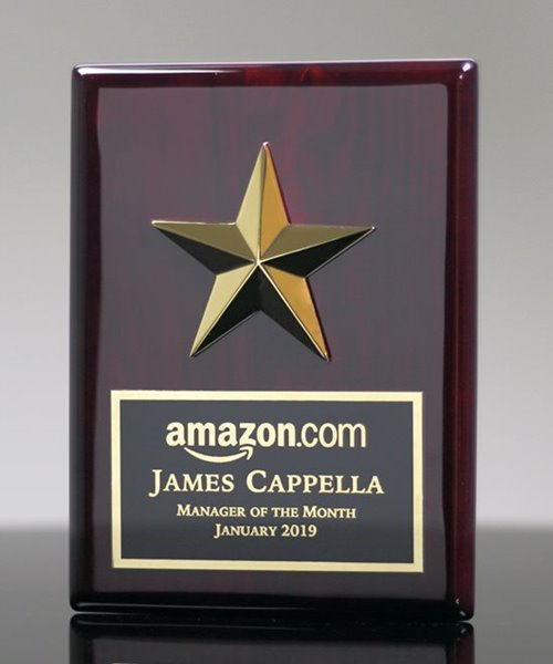 Picture of Rock Star Plaque