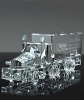 Picture of Crystal 18 Wheeler Truck Award