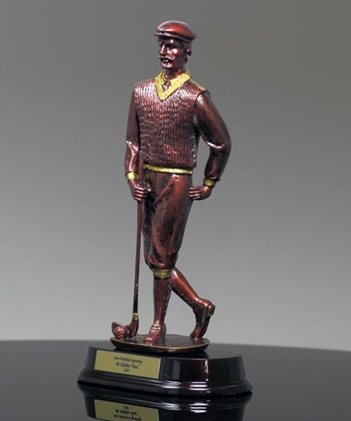 Picture of Old Fashion Male Golfer Award
