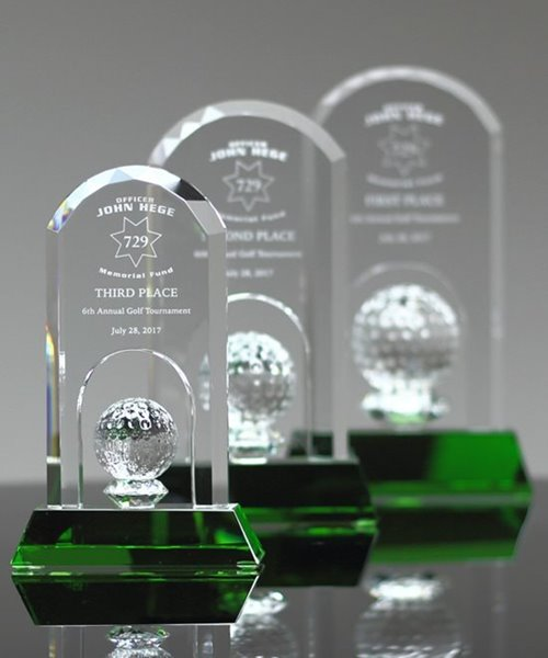 Picture of Flight Crystal Golf Award