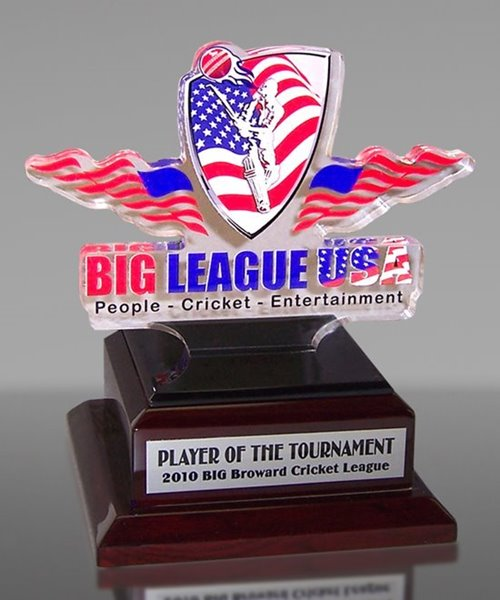 Picture of Premium Logo-Cut Cricket Award