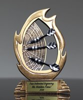 Picture of Flame Series Darts Award