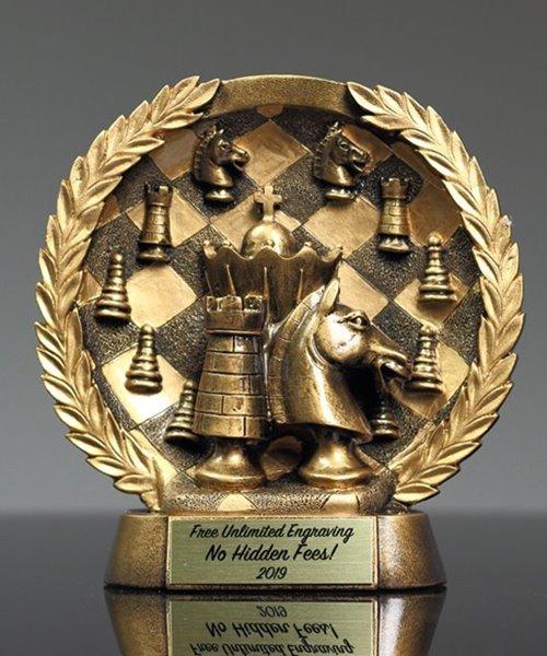 Picture of Bronzestone Chess Match Award