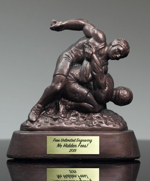 Picture of Wrestling Guillotine Trophy