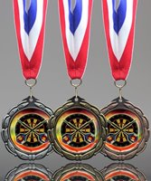 Picture of Epoxy-Domed Darts Medals
