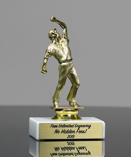 Picture of Economy Cricket Bowler Trophy