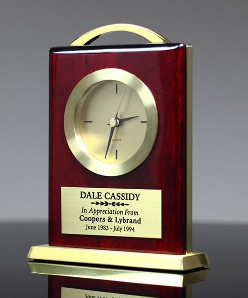 Picture of Rosewood Bracket Clock Award
