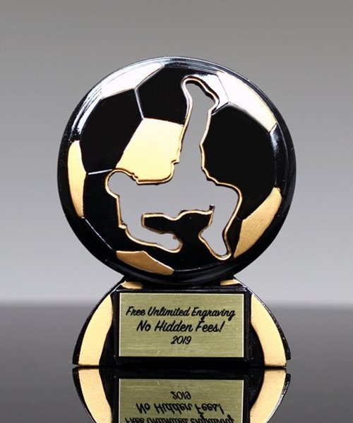 Picture of Soccer Male Shadow Trophy