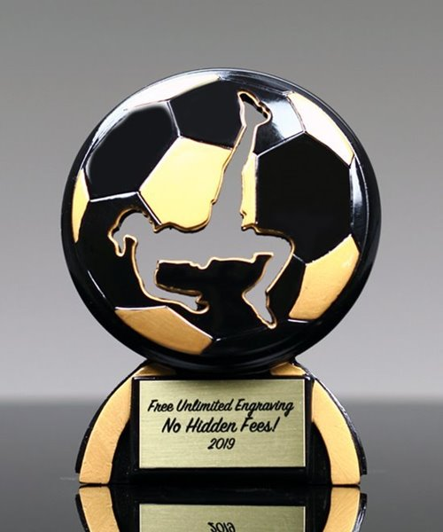 Picture of Soccer Female Shadow Trophy