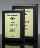 Picture of Matt Black Award Plaque