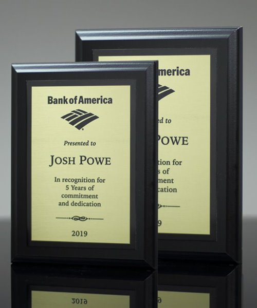 Picture of Matt Black Award Plaque