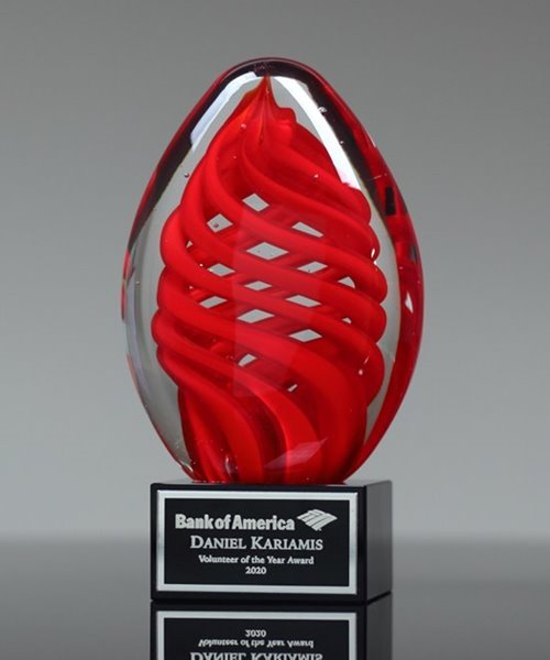 Picture of Artful Helix Glass Award