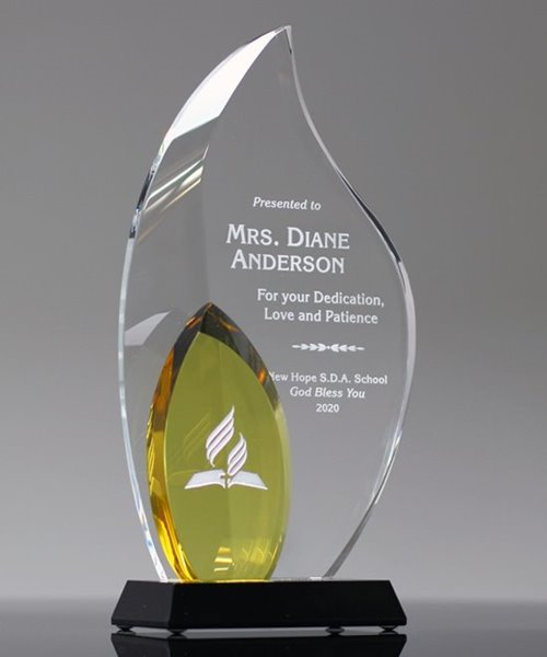 Picture of Dedication Crystal Award