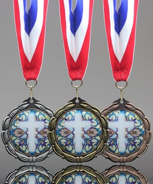 Picture of Epoxy-Domed Religious Medal
