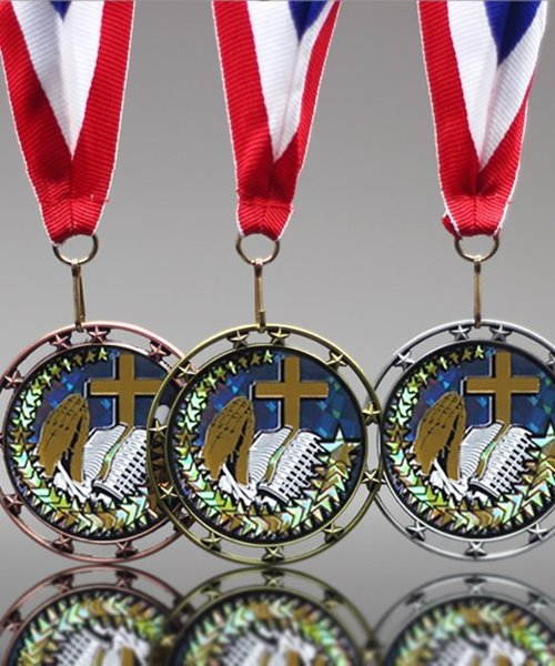 Picture of Religious Star Medal