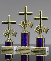 Picture of Bible Cross Trophy