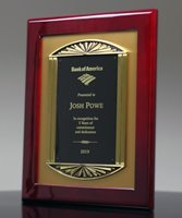 Picture of Bronze Casting Award Frame