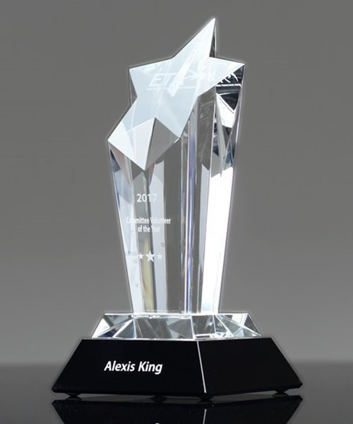 Picture of Acclaim Star Crystal Award