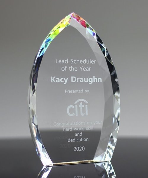 Picture of Jeweled Crystal Flame Award