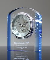 Picture of Appreciation Crystal Clock Award