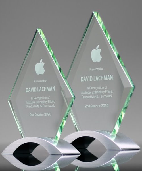 Picture of Camber Diamond Glass Award