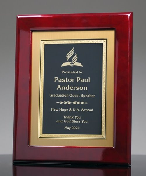 Picture of Rosewood Frame Award