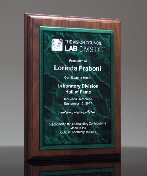 Picture of Iconic Verde Award Plaque