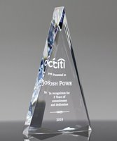 Picture of Encore Diamond Acrylic Award