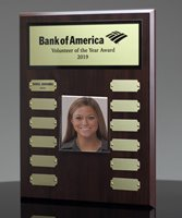Picture of Employee Photo Perpetual Plaque