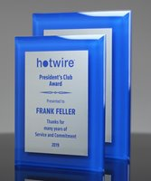 Picture of Blue Acrylic Award Plaque
