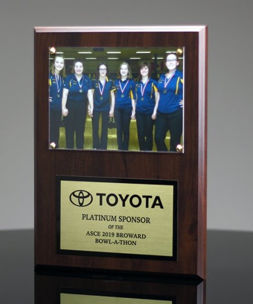 Picture of Team Photo Sponsor Plaque