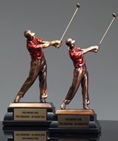 Picture of Bronze Resin Golfer