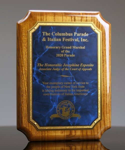 Picture of Paramount Award Plaque