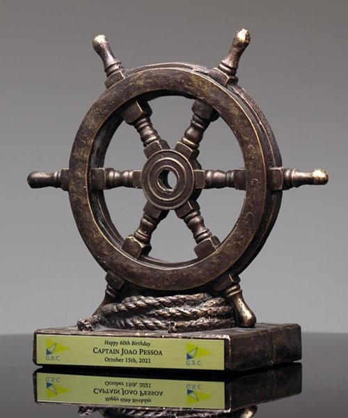 Picture of Ship's Wheel Trophy