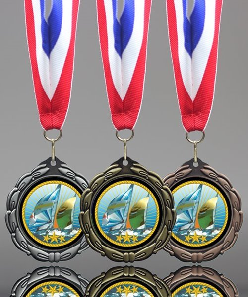 Picture of Epoxy-Domed Sailing Medal