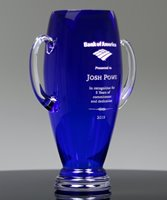 Picture of Cobalt Crystal Trophy Cup