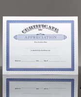 Picture of Certificate of Appreciation