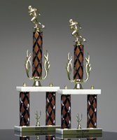 Picture of Classic Wood 2-Column Trophy
