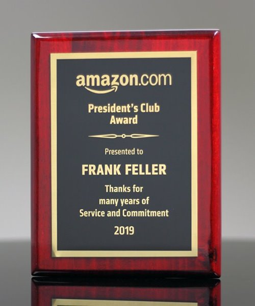 Picture of Piano-Finish Rosewood Award Plaques