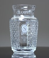 Picture of Cut Crystal Trophy Vase
